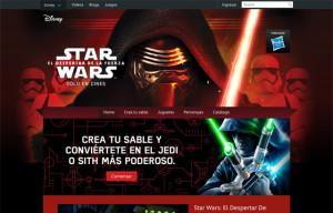 Star Wars, El Despertar de la Fuerza – Disney
