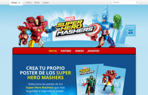 Super Hero Mashers – Disney